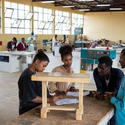 Formazione professionale in Etiopia. | © Patrick Rohr / Helvetas