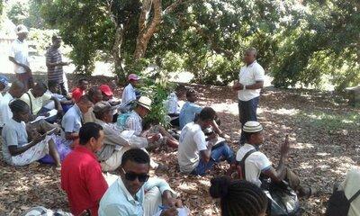 visite d'échange apiculteurs à Manakara   © Helvetas