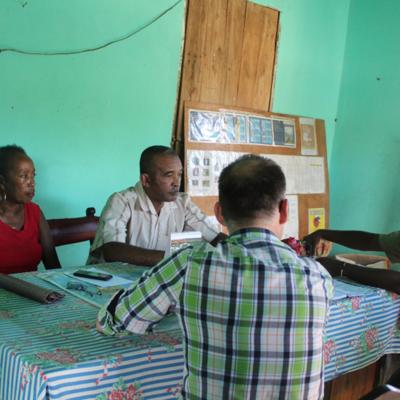 Réunion de négociation avec commune Doany | © Helvetas Madagascar