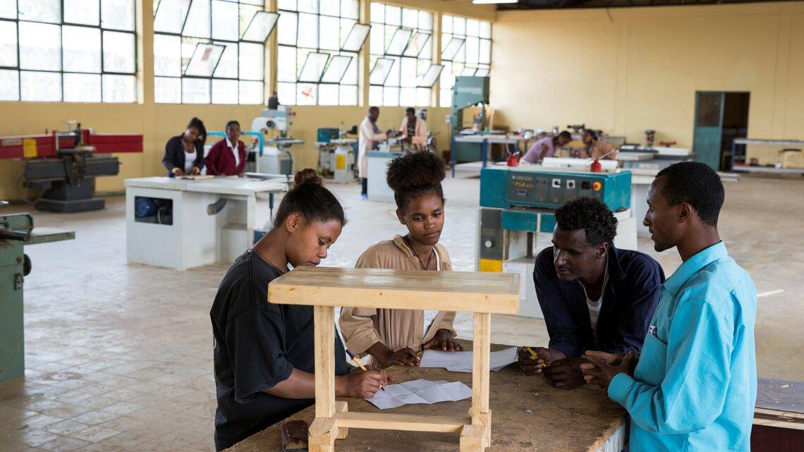 Formazione professionale in Etiopia.   © Patrick Rohr / Helvetas