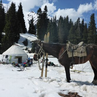 Winter Tourism in Kyrgyzstan | © Helvetas