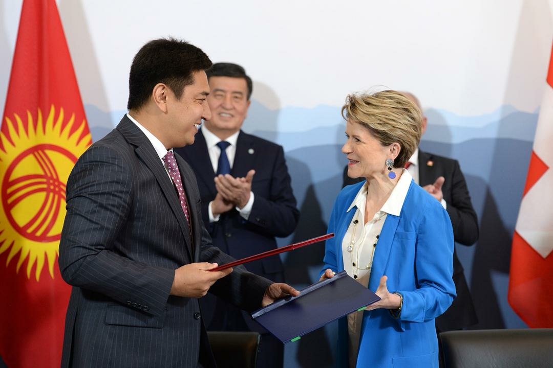 Agreement between Kyrgyzstan and Switzerland on winter tourism development | © Helvetas