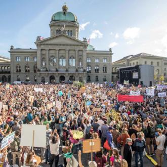 Nationale Klimademo Bundesplatz | © Klimaallianz