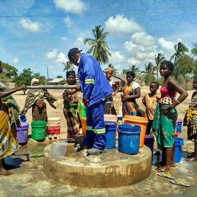 Nothilfe in Mosambik | © Helvetas / Daya Moser