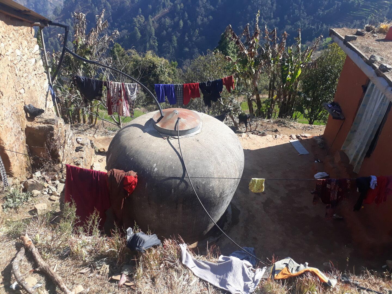 Water tank in Nepal | © Helvetas / Jane Carter