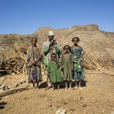 Äthiopische Hirtenfamilie  | © Helvetas / Fatoumata Diabate