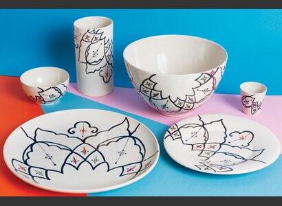 Keramik aus der Fairshop-Kollektion von Frédéric Dedelley | © Helvetas / Isabel Rotzler
