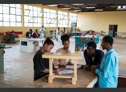 Äthiopien Berufsbildung   © Patrick Rohr / Helvetas