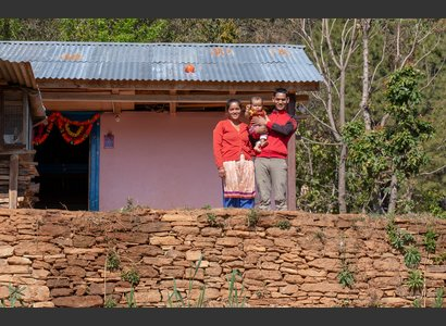 Reconstruction antisismique   © Narendra Shrestha