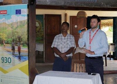 Lancement du projet 930 à Ambanja | © Medair