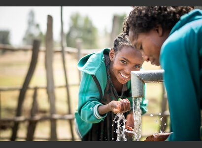 Drinking water wells in Ethiopia | © Helvetas / Simon B. Opladen