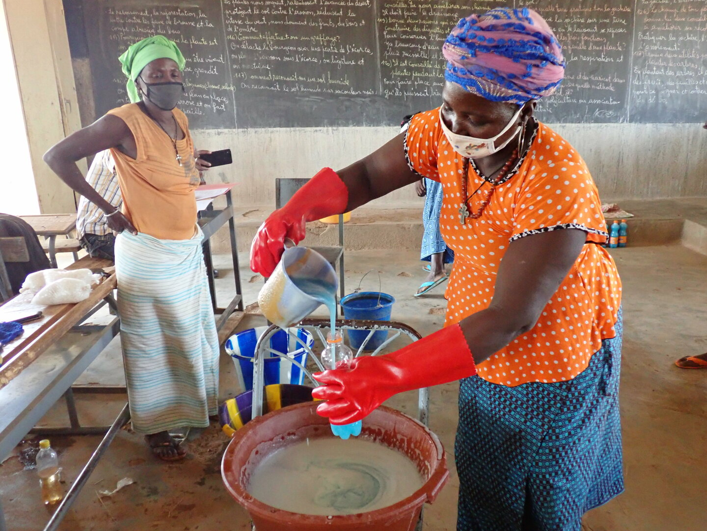 Seifenherstellung Burkina Faso Soap Production | © Yacouba Lankoandé
