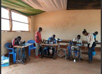 Mozambique: fabrication de masques sanitaires | © Helvetas / Safinia Aiuba