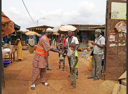 Markt in Ouagadougou, Burkina Faso | © Helvetas / Franca Roiatti