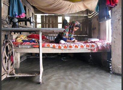 Überschwemmung in Bangladesch | © Helvetas / Alexa Mekonen