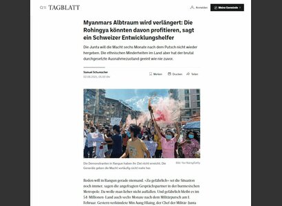 © St. Galler Tagblatt