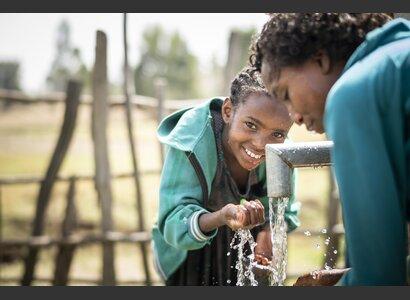 Drinking water wells in Ethiopia   © Helvetas / Simon B. Opladen